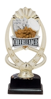 "6-1/2"" Meridian Cheerleader Figure on Base Trophy MF765-ASB335"