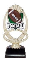 "6-1/2"" Meridian Football Figure on Base Trophy MF766-ASB335"