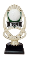 "6-1/2"" Meridian Golf Figure on Base Trophy MF767-ASB335"