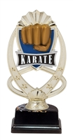 "6-1/2"" Meridian Karate Figure on Base Trophy MF771-ASB335"