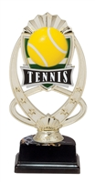 "6-1/2"" Meridian Tennis Figure on Base Trophy MF775-ASB335"