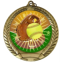 "2-3/4"" Full Color Series Softball Medal MM292-FCL-138"