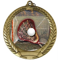 "2-3/4"" Full Color Series Lacrosse Medal MM292-FCL-158"