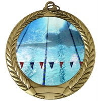 "2-3/4"" Full Color Series Swimming Medal MM292-FCL-44"
