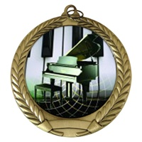 "2-3/4"" Piano Holographic Mylar Medal MM292-FCL-524"