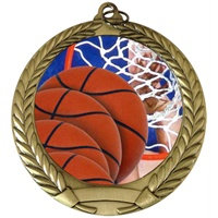 "2-3/4"" Full Color Series Basketball Medal MM292-FCL-8"