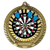 "2-3/4"" Darts SUNBURST Mylar Medal MM292-MY314"