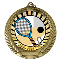 "2-3/4"" Racquetball SUNBURST Mylar Medal MM292-MY329"