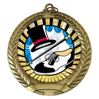 "2-3/4"" Tap Dance SUNBURST Mylar Medal MM292-MY352"