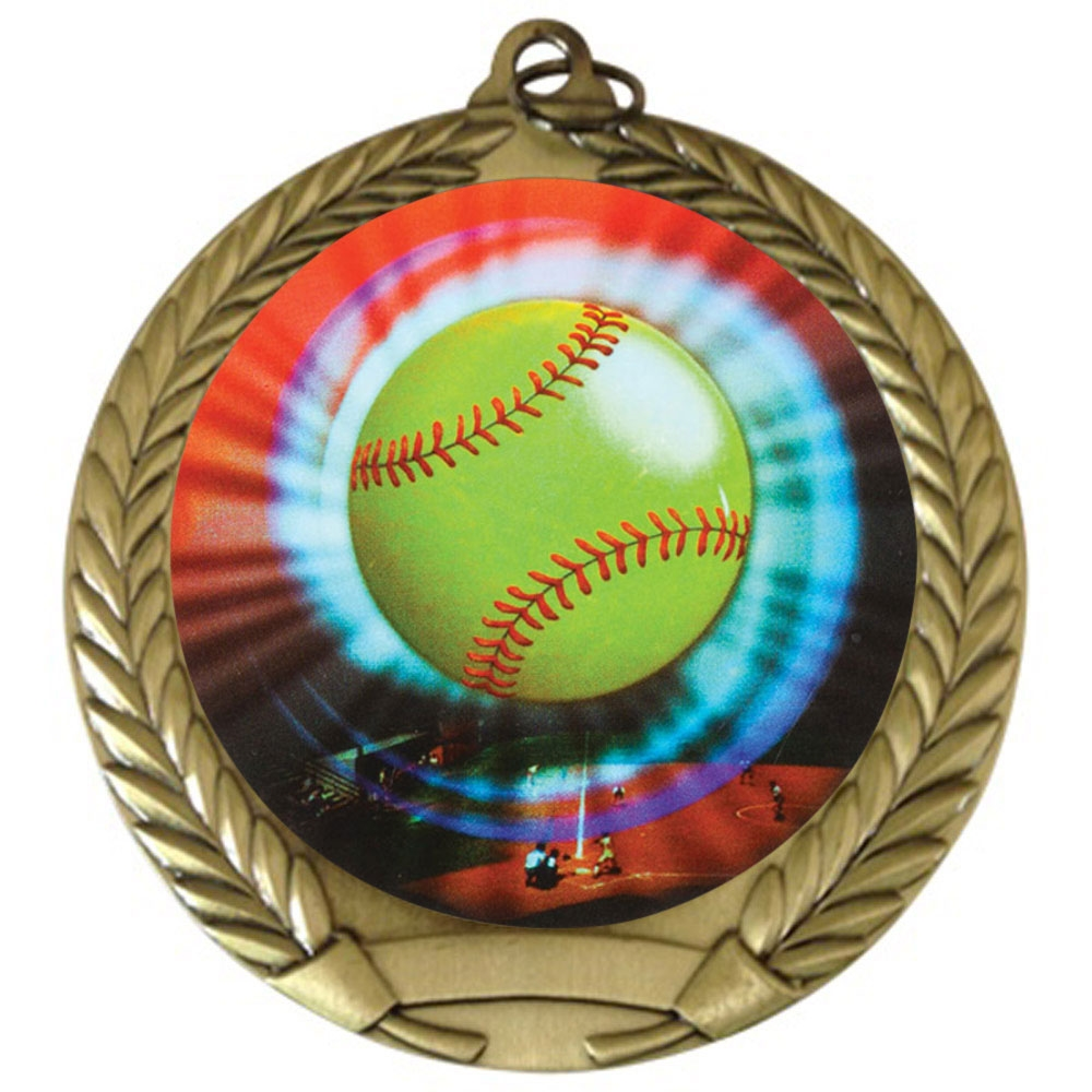 "2-3/4"" Softball Medal"