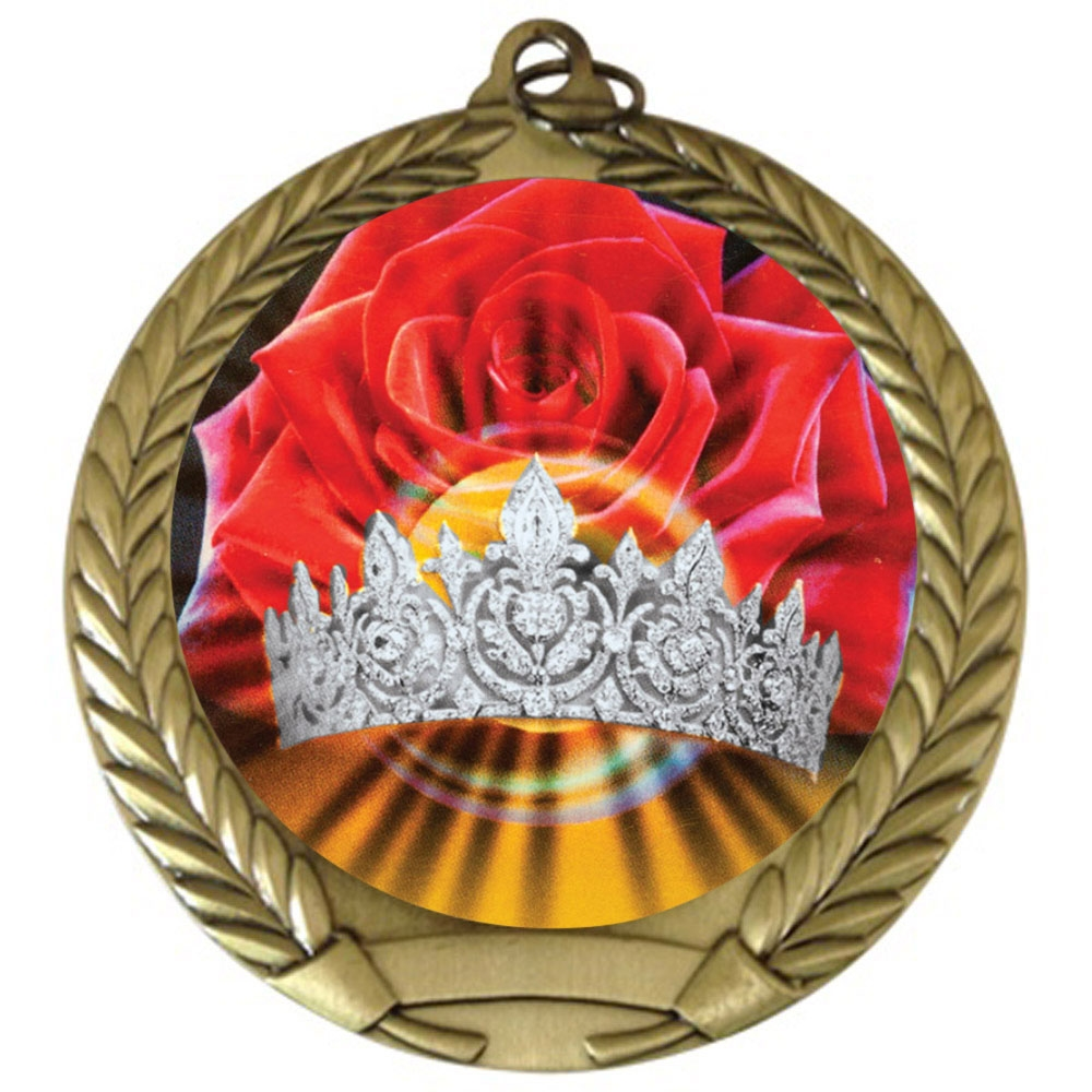 "2-3/4"" Beauty Queen Medal"
