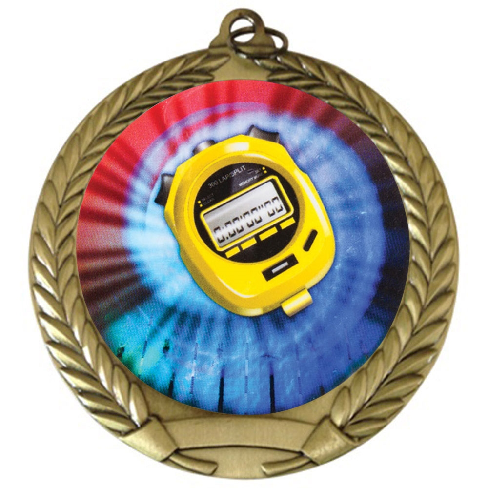 "2-3/4"" Swimming Medal"