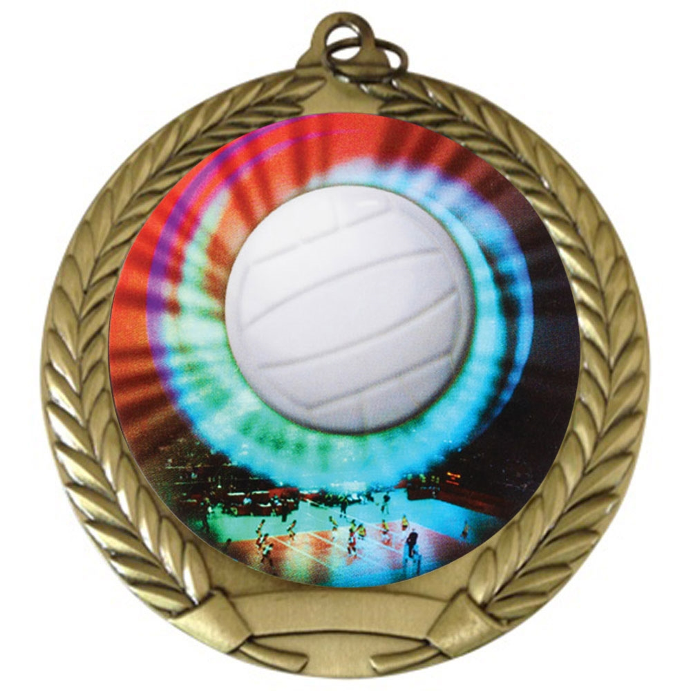 "2-3/4"" Volleyball Medal"