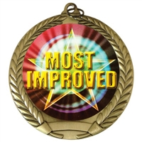 "2-3/4"" Most Improved Medal"