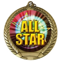 "2-3/4"" All Star Medal"