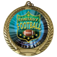 "2-3/4"" Fantasy Football Medal"