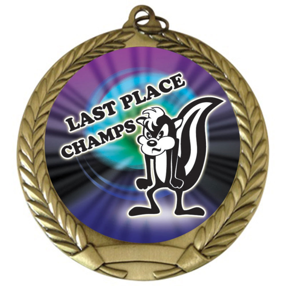 "2-3/4"" Last Place Loser Medal"