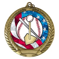 "2-3/4"" T-Ball USA Mylar Medal MM292-MY501"