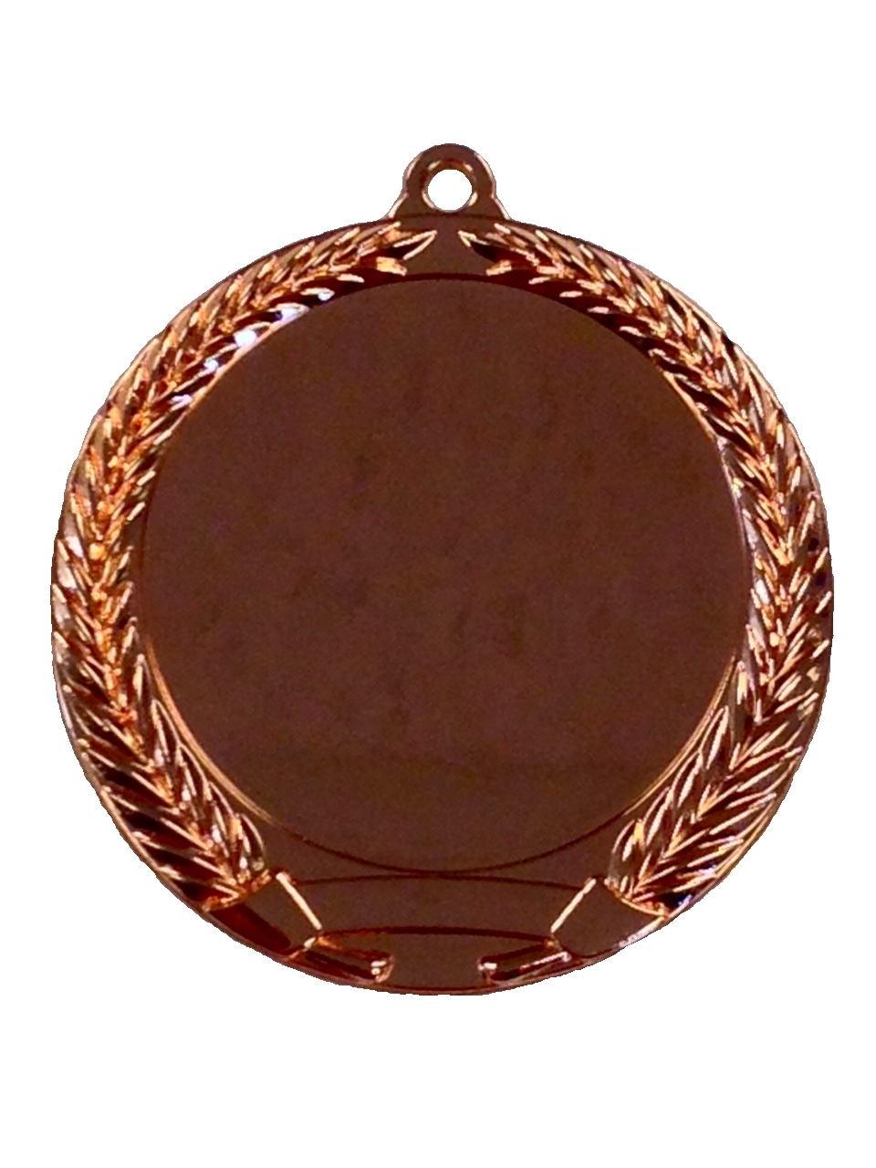 "2"" Shiny Bronze Blank Insert Medal  MM292MB"