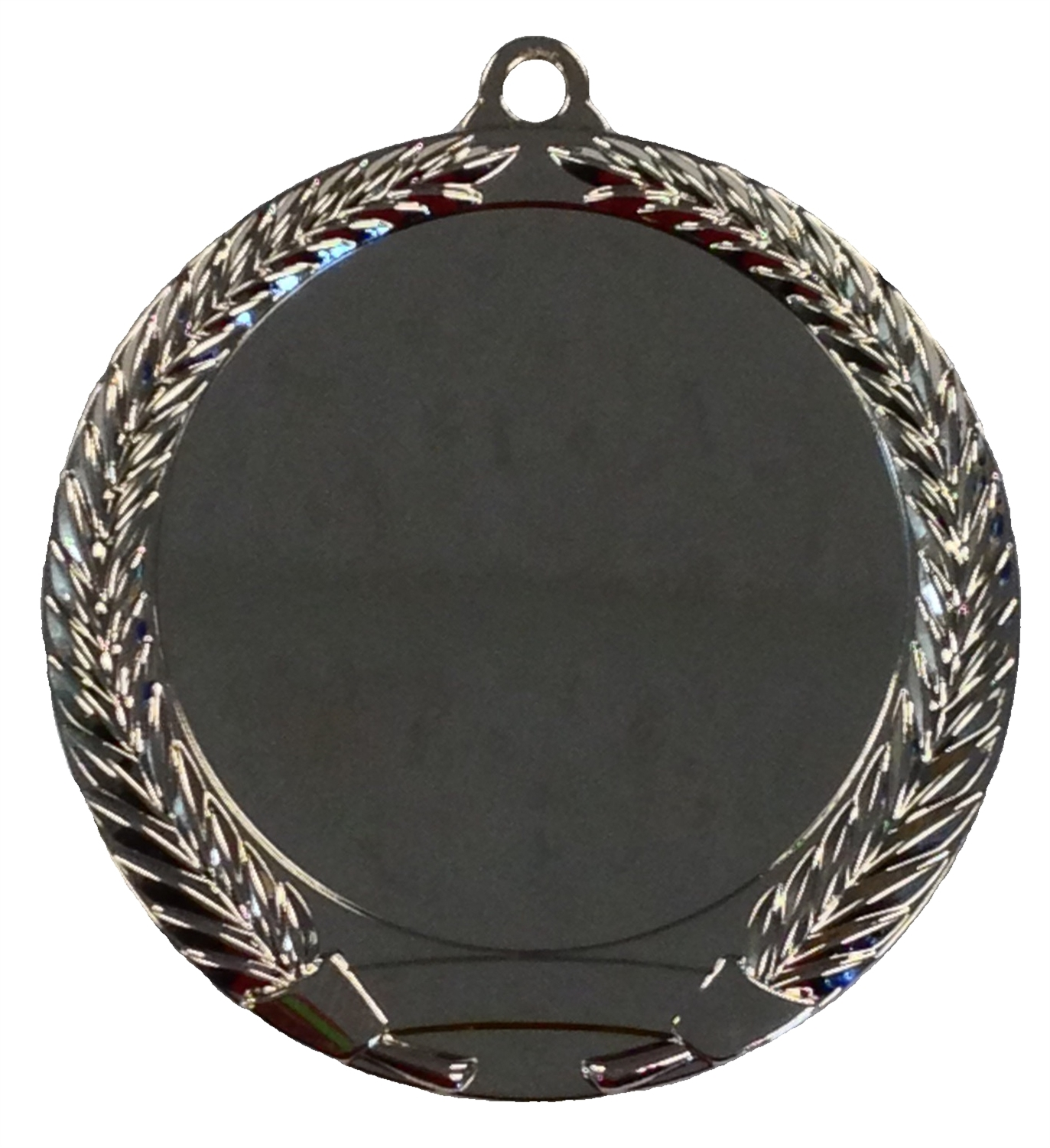 "2"" Shiny Silver Blank Insert Medal  MM292MS"