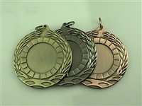 "2"" BLANK Insert Medal 1"" Mylar Not Included MM61"