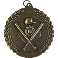 "2-3/4"" Baseball Medal MS102"