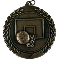 "2-3/4"" Basketball Medal MS103"