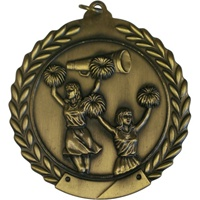 "2-3/4"" Cheerleading Medal MS105"