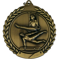 "2-3/4"" Male Gymnastics Medal MS109"