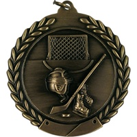 "2-3/4"" Hockey Medal MS110"