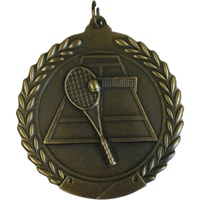 "2-3/4"" Tennis Medal MS115"