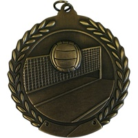 "2-3/4"" Volleyball Medal MS117"