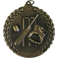 "2-3/4"" Cricket Medal MS122"