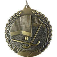 "2-3/4"" Field Hockey Medal MS127"