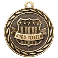 "2"" Scholastic Good Citizen Medal MS308"