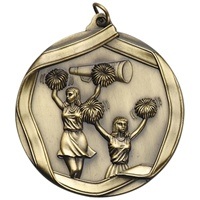 "2-1/4"" Cheerleading Medal MS605"