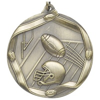 "2-1/4"" Football Medal MS606"