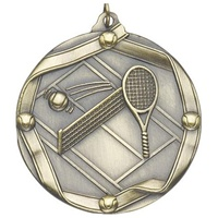 "2-1/4"" Tennis Medal MS615"