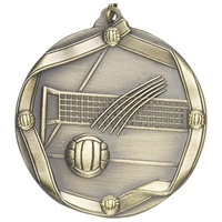 "2-1/4"" Volleyball Medal MS617"