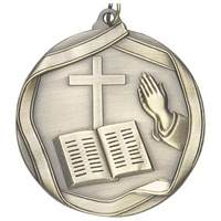 "2-1/4"" Religious Medal MS654"