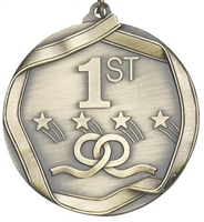 "2-1/4"" First Place Medal MS691AG"