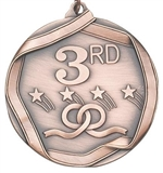 "2-1/4"" Third Place Medal MS693AB"
