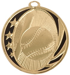 "2"" MidNite Star Series Baseball Medal MS701"