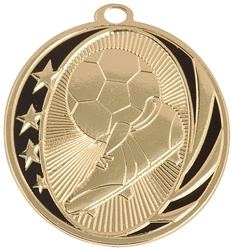 "2"" MidNite Star Series Soccer Medal MS707"