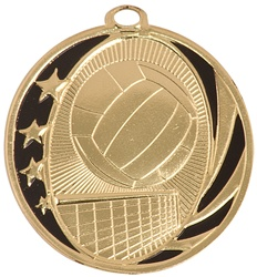 "2"" MidNite Star Series Volleyball Medal MS711"