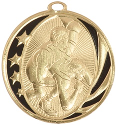 "2"" MidNite Star Series Wrestling Medal MS712"