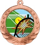 "2-3/4"" Motion Tennis Medal MTN10"
