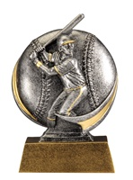 "5"" Motion Xtreme Baseball Trophy"