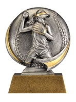"5"" Motion Xtreme Softball Trophy"
