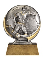 "5"" Motion Xtreme Boys Soccer Trophy"